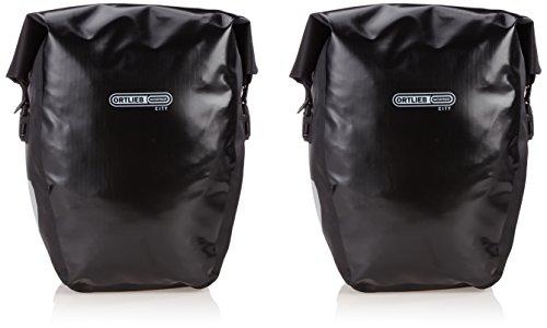 Stabile Wasserfeste Ortlieb Gepäckträgertasche Back Roller City Paar